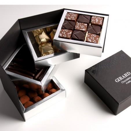 Coffret Star chocolats 4 étages
