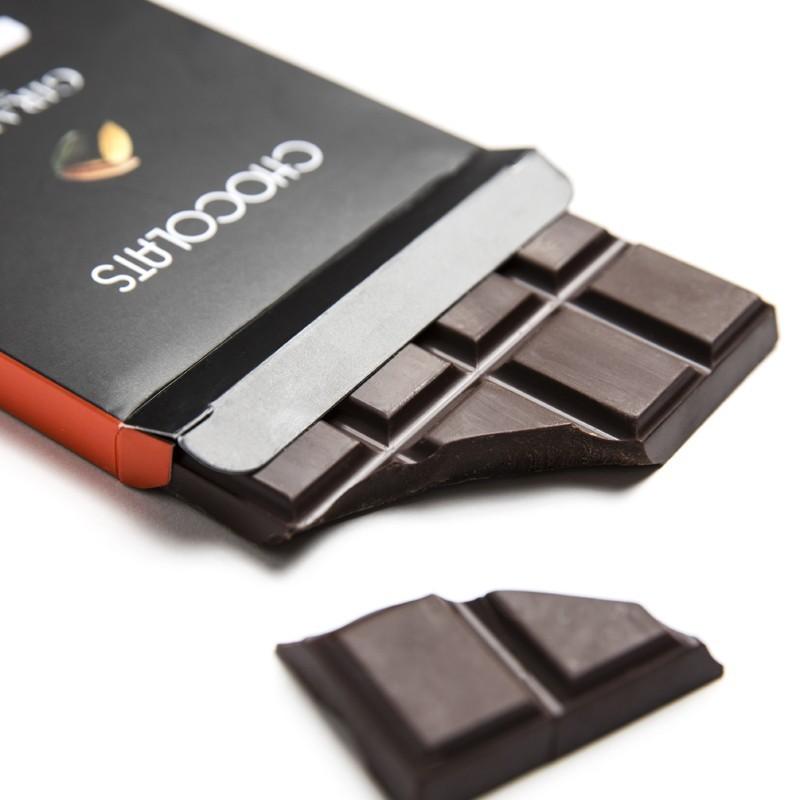 Tablette chocolat noir Tanzanie 75%