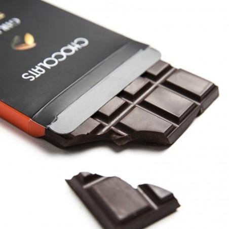 Tablette chocolat noir Orangettes 120g