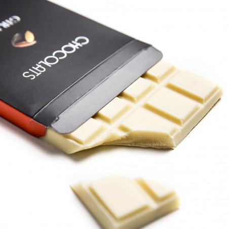 Tablette chocolat blanc 120g