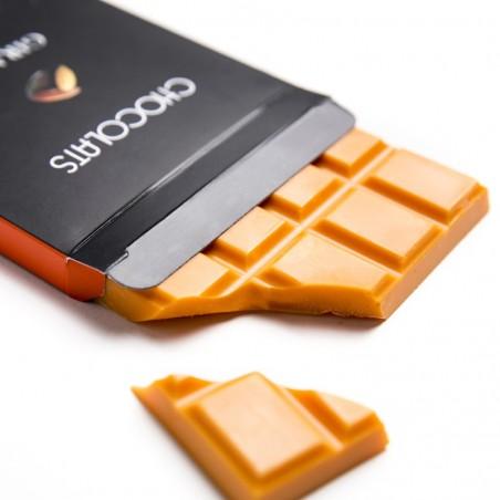 Tablette chocolat à l'orange 120g
