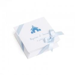 Mini-boîte bleue à dragées 40g
