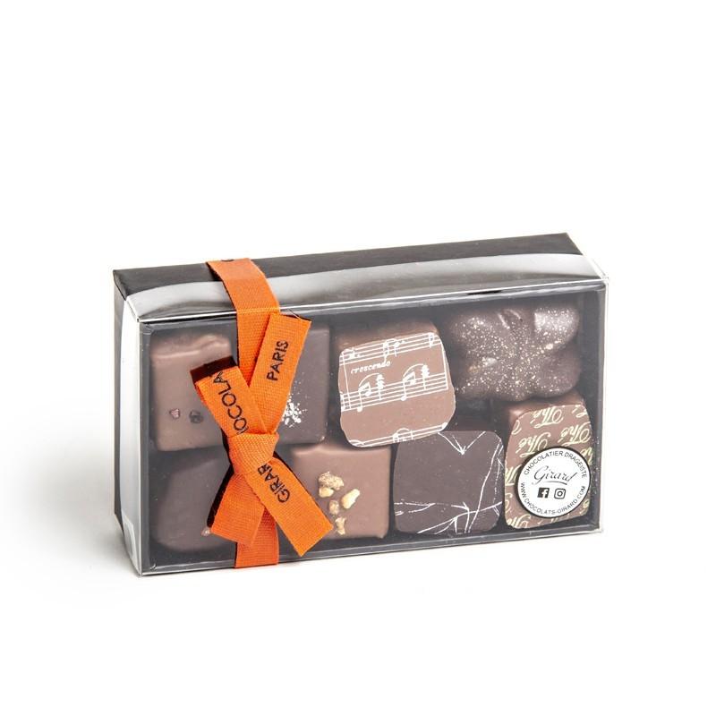 Ballotin 16 chocolats 180g 2 étages
