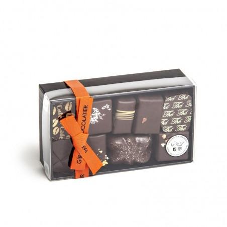 Ballotin 16 chocolats 170g 2 étages