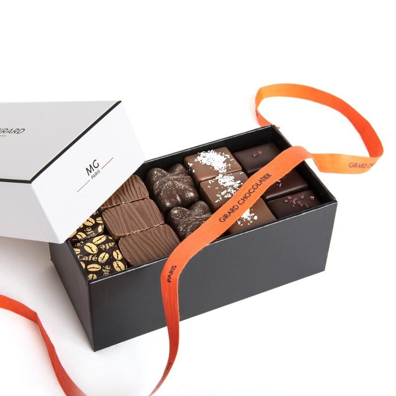 Ballotin 380g, 35 chocolats pralinés, 3 étages