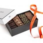 Ballotin 250g, 24 chocolats pralinés, 2 étages