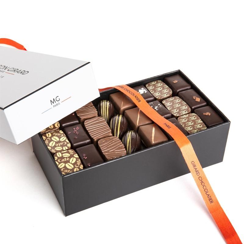 Ballotin 700g, 65 chocolats, 3 étages
