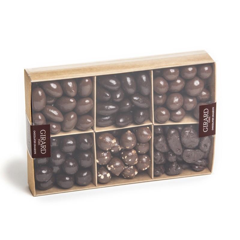 Coffret Tentation billes en chocolat 6 cases