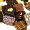 Coffret Palet d'Or ganache chocolat 24 pièces