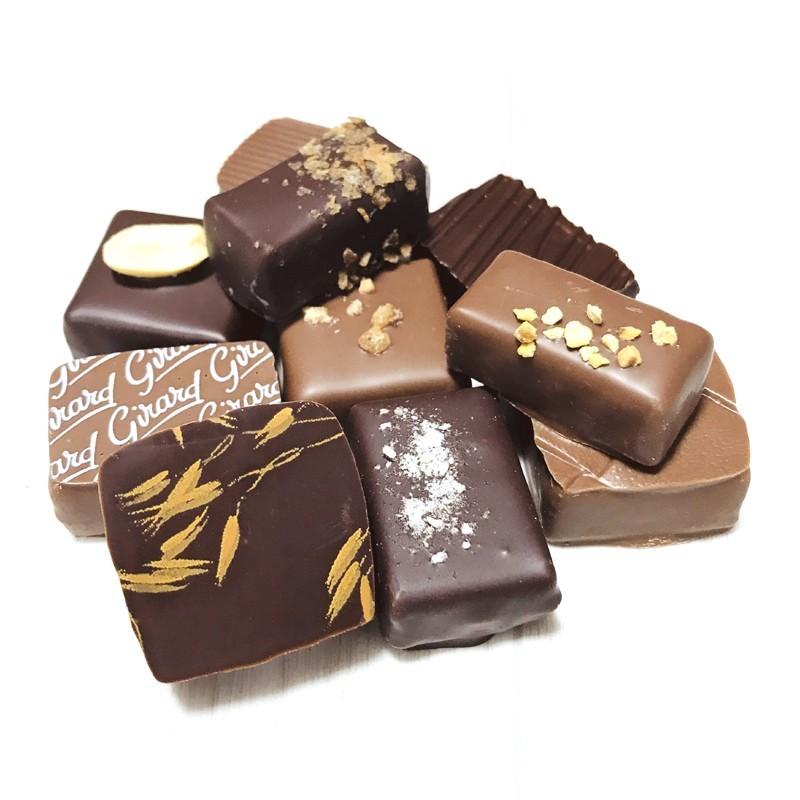 Sac chocolats pralinés Girard 200g