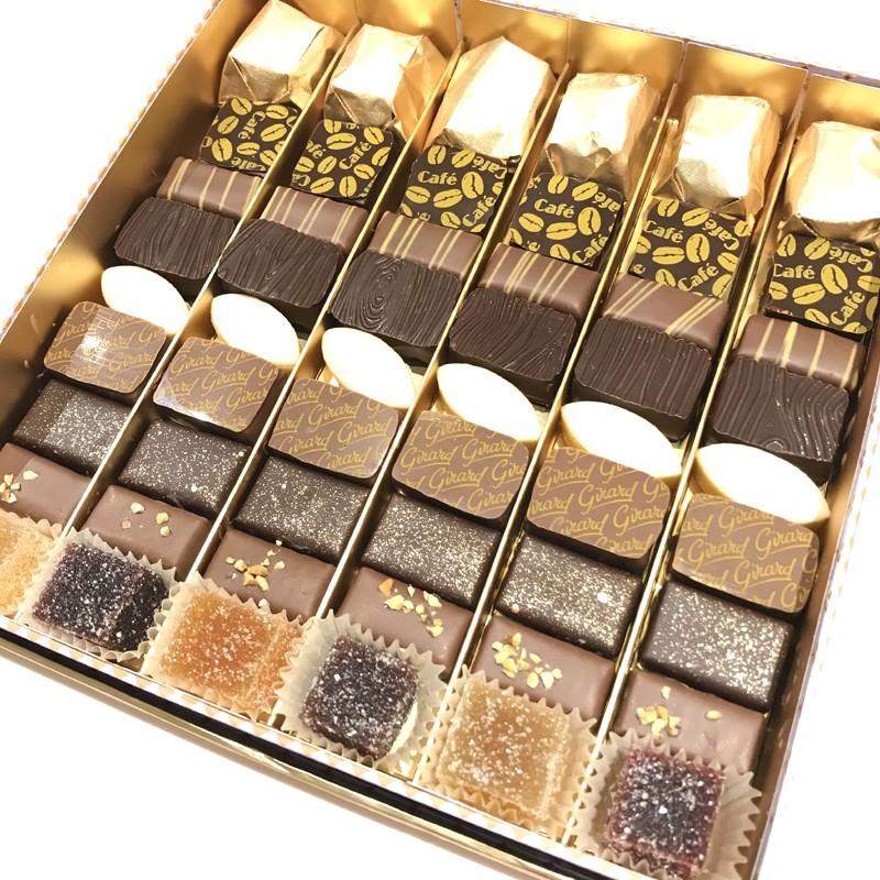 Coffret Prestige Gourmandine chocolat et confiserie PM