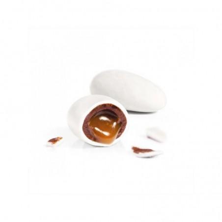 Dragées caramel et chocolat Cara Choc' 500g blanc