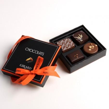 Ecrin 4 chocolats assortis