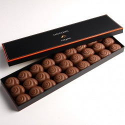 Coffret chocolats 27 Escargots lait