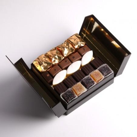 Coffret chocolats et confiserie Faux Livre PM