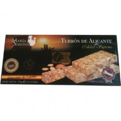 Turron d'Alicante (nougat espagnol) 150g