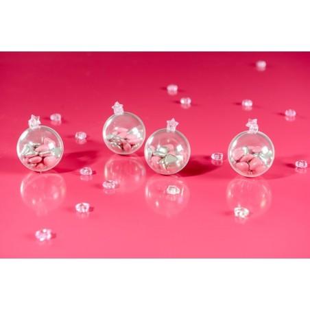 Boule plexi transparente 5cms