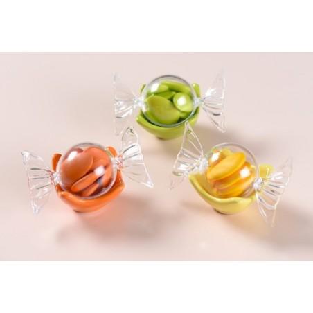 Bonbon transparent en plexi
