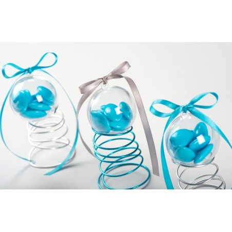 Boule plastique 6 cm