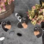 Eprouvettes à dragées en verre 10cm
