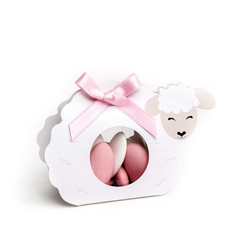 Etuis à dragées cartonné Mouton
